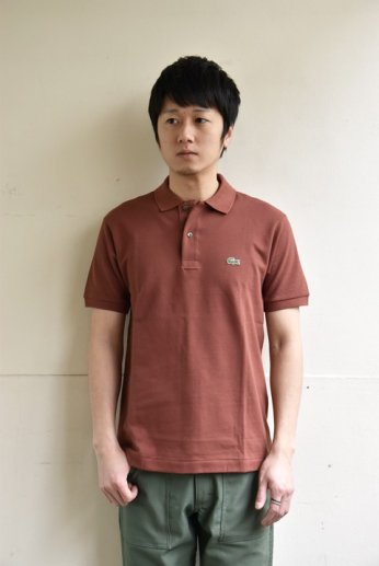 <img class='new_mark_img1' src='https://img.shop-pro.jp/img/new/icons13.gif' style='border:none;display:inline;margin:0px;padding:0px;width:auto;' />LACOSTE(ラコステ) 半袖ポロシャツ ブラウン