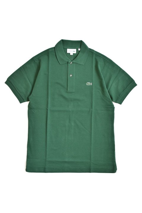 <img class='new_mark_img1' src='//img.shop-pro.jp/img/new/icons13.gif' style='border:none;display:inline;margin:0px;padding:0px;width:auto;' />LACOSTE(ラコステ) 半袖ポロシャツ グリーンの写真