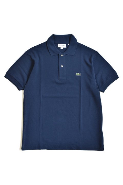 <img class='new_mark_img1' src='https://img.shop-pro.jp/img/new/icons13.gif' style='border:none;display:inline;margin:0px;padding:0px;width:auto;' />LACOSTE(ラコステ) 半袖ポロシャツ ネイビーの写真