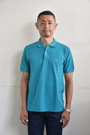 <img class='new_mark_img1' src='https://img.shop-pro.jp/img/new/icons13.gif' style='border:none;display:inline;margin:0px;padding:0px;width:auto;' />LACOSTE(ラコステ)半袖ポロシャツ エメラルド
