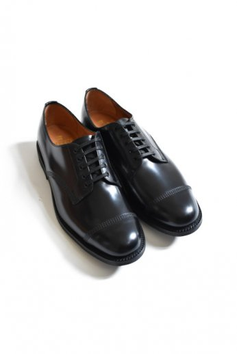 <img class='new_mark_img1' src='//img.shop-pro.jp/img/new/icons13.gif' style='border:none;display:inline;margin:0px;padding:0px;width:auto;' />SANDERS(サンダース) MILITARY DERBY SHOE ブラック