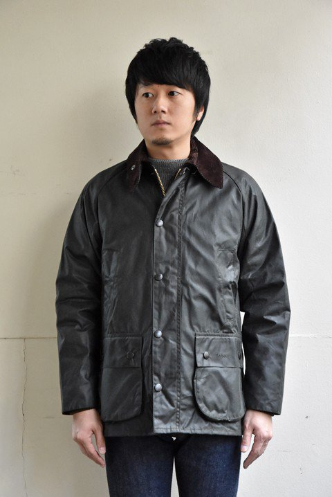 <img class='new_mark_img1' src='https://img.shop-pro.jp/img/new/icons13.gif' style='border:none;display:inline;margin:0px;padding:0px;width:auto;' />Barbour(バブアー)Bedale(ビデイル)ワックスジャケットの写真