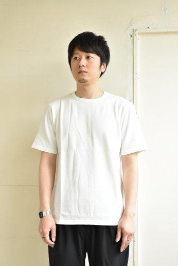 SPINNER BAIT(スピナーベイト) ミニ裏毛半袖Tシャツ ホワイト