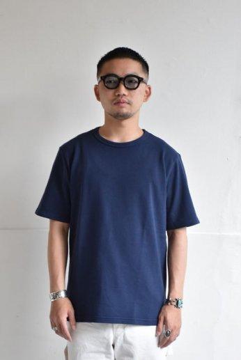 SPINNER BAIT(スピナーベイト) ミニ裏毛半袖Tシャツ ネイビー