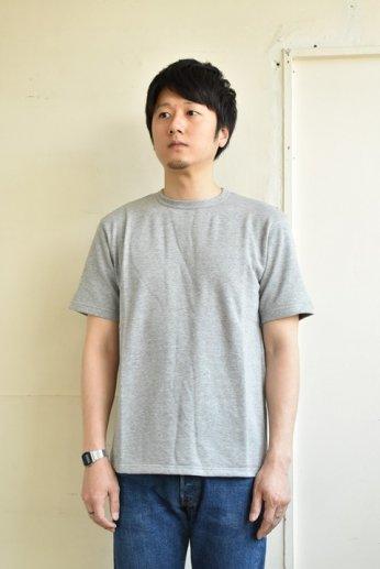 SPINNER BAIT(スピナーベイト)ミニ裏毛半袖Tシャツ グレー