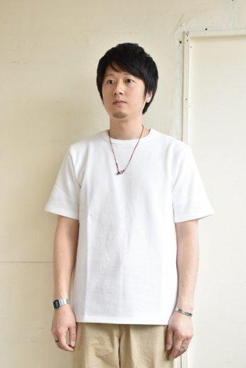 SPINNER BAIT(スピナーベイト)アメリカンドライカノコ半袖Tシャツ ホワイト