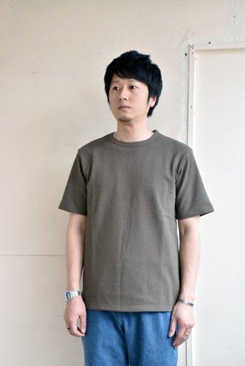 SPINNER BAIT(スピナーベイト)アメリカンドライカノコ半袖Tシャツ アーミーグリーン