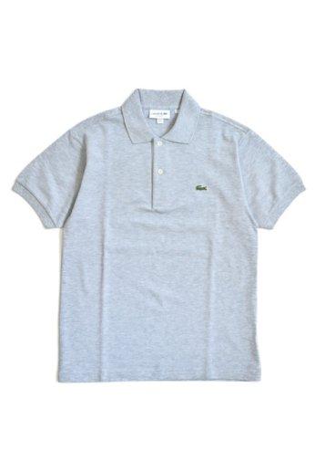 LACOSTE(ラコステ) 半袖ポロシャツ シルバーグレー