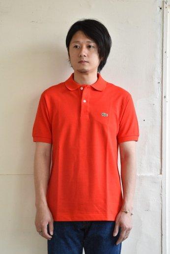 LACOSTE(ラコステ) 半袖ポロシャツ レッドオレンジ
