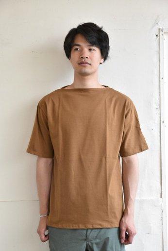 Saint James(セントジェームス) PIRIAC(ピリアック) 半袖Tシャツ  CIGARE(タバコ)