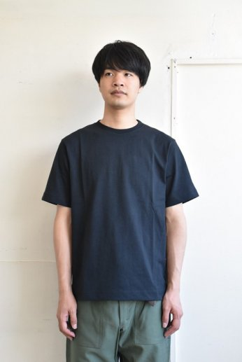 PANNILL(パニール)ショートスリーブTシャツ ブラック