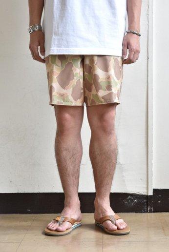BIRDWELL(バードウェル)Board Shorts(ストレッチ)フロッグスキンカモ