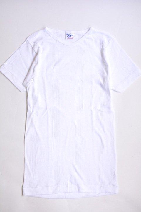 <img class='new_mark_img1' src='https://img.shop-pro.jp/img/new/icons13.gif' style='border:none;display:inline;margin:0px;padding:0px;width:auto;' />Miller(ミラー)  半袖Tシャツ ホワイトの写真