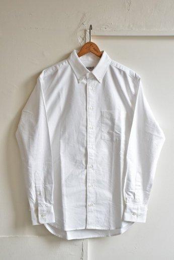 SERO(セロ)ボタンダウンシャツ オックスフォード ホワイト