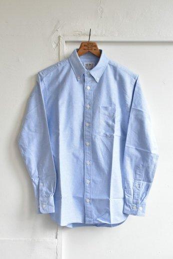 SERO(セロ)ボタンダウンシャツ オックスフォード ブルー