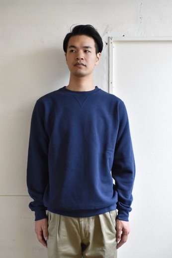 Champion(チャンピオン) USA 9oz CREW NECK SWEATSHIRT ネイビー