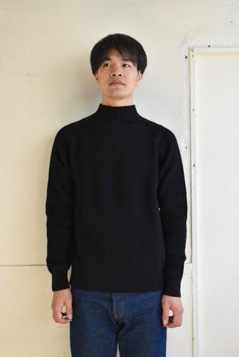 Vincent Mireille(ヴァンソン エ ミレイユ)ハイネックセーター ブラック