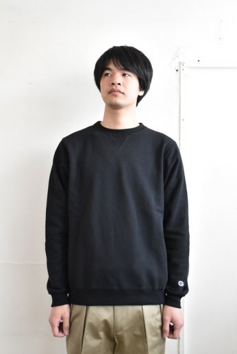 Champion(チャンピオン) USA 9oz CREW NECK SWEATSHIRT ブラック
