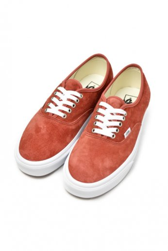VANS(バンズ)AUTHENTIC Pig Suede
