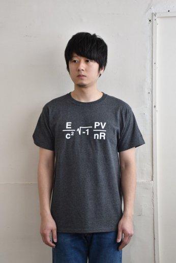 Champion(チャンピオン)MIT プリントTシャツ チャコールグレー