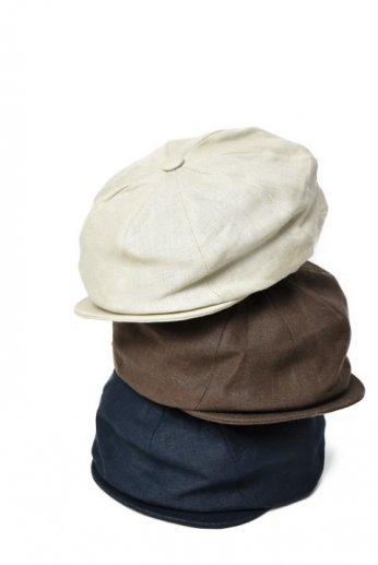 Hanna Hats(ハンナハッツ) Newsboy Cap Irishlinen