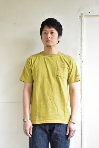 Champion(チャンピオン) T1011 ポケット付きTシャツ ローレルグリーン