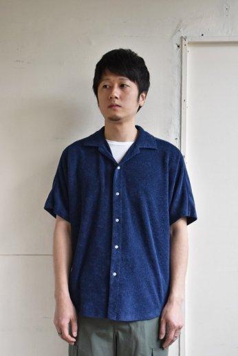 <img class='new_mark_img1' src='https://img.shop-pro.jp/img/new/icons34.gif' style='border:none;display:inline;margin:0px;padding:0px;width:auto;' />melple(メイプル)CA Pile Kakaako Dolman Shirts ネイビー