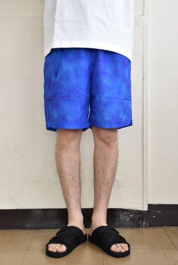 SUBLiME(サブライム) タイダイ パッカブルビーチパンツ ブルー