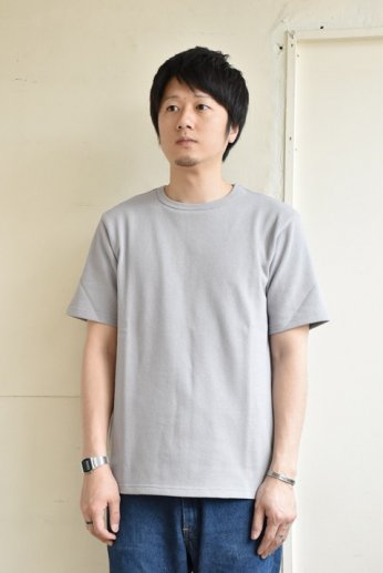 SPINNER BAIT(スピナーベイト)アメリカンドライカノコ半袖Tシャツ ヘザーグレー