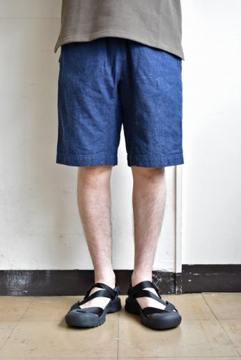 N.O.UN(ナウン) SPINDLE SHORTS 'DENIM'