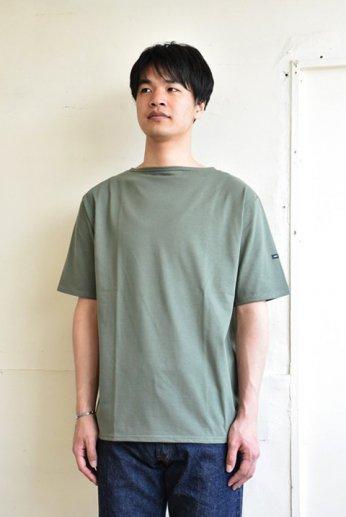 Saint James(セントジェームス) PIRIAC(ピリアック)半袖Tシャツ ALGUE(シーグリーン)