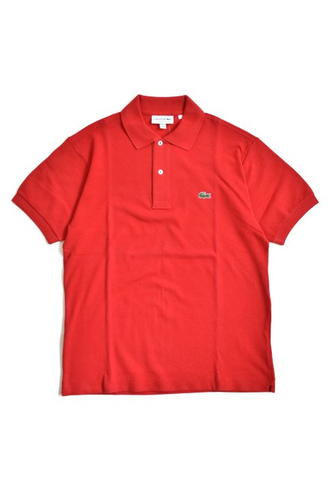 <img class='new_mark_img1' src='//img.shop-pro.jp/img/new/icons13.gif' style='border:none;display:inline;margin:0px;padding:0px;width:auto;' />LACOSTE(ラコステ) 半袖ポロシャツ レッドの写真
