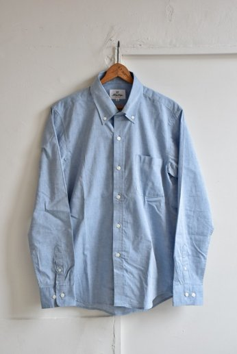 H by FIGER(エイチバイフィガー)シャンブレーボタンダウンシャツ