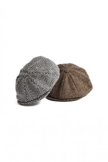Hanna Hats(ハンナハッツ)Newsboy Cap tweed