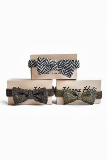 Hanna Hats(ハンナハッツ) Bow Tie Pattern tweed