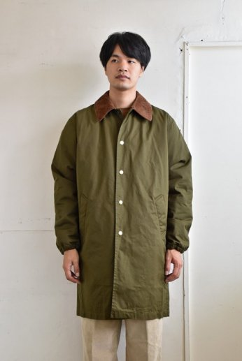 N.O.UN(ナウン)  COACH COAT LIGHT オリーブ