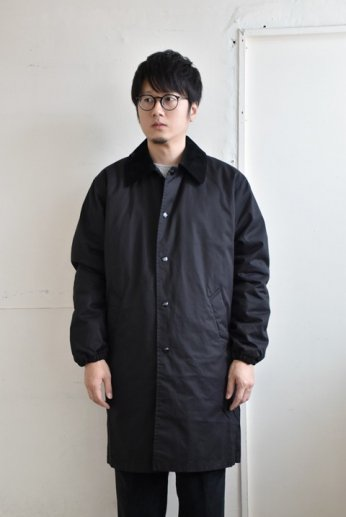N.O.UN(ナウン)  COACH COAT LIGHT ブラック