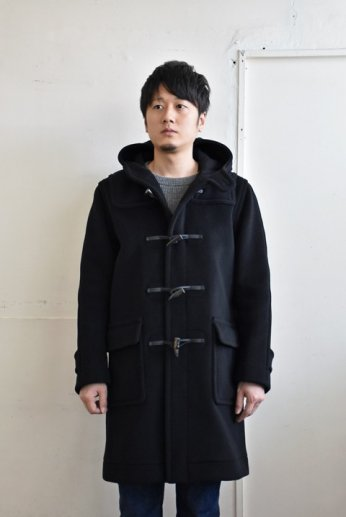 INVERTERE(インバーティア) LONG LENGTH DUFFLE COAT ブラック