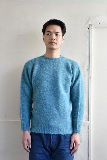 Ce Forsyth(フォーサイス) シャギードッグセーター AZURE