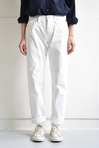 【メーカーお問い合わせ商品】Shu jeans(シュージーンズ) Peggy(ペギー)ホワイト