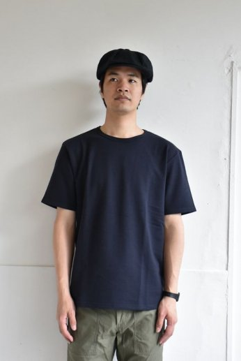 SPINNER BAIT(スピナーベイト) ミニ裏毛半袖Tシャツ スミクロ