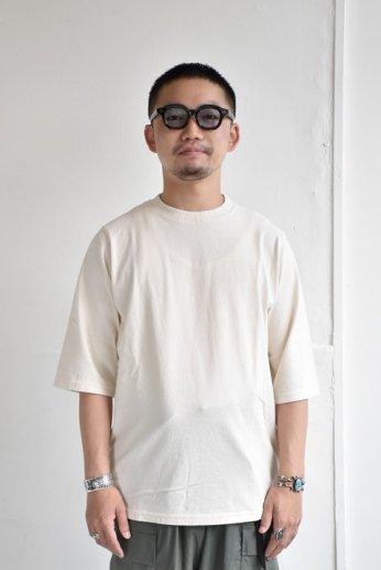 Jackman(ジャックマン) 1/2-Sleeved T-Shirt ハーフスリーブTシャツ Kinari