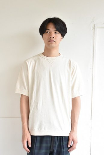 Jackman(ジャックマン) Rib T-Shirt リブTシャツ Kinari