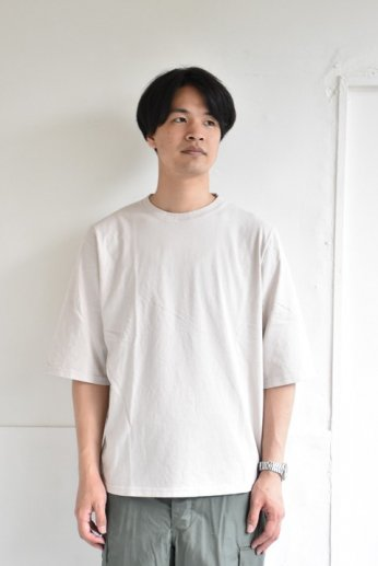 Jackman(ジャックマン) 1/2-Sleeved T-Shirt ハーフスリーブTシャツ Drop Gray