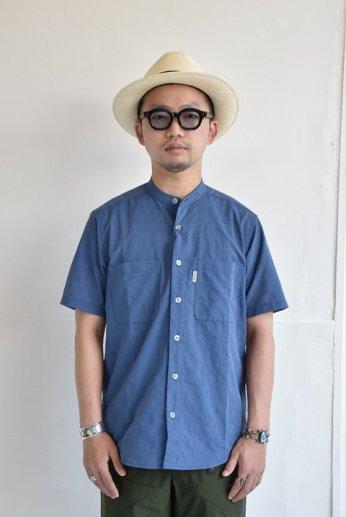 FOXFIRE(フォックスファイヤー) Cシールドプレザントシャツ S/S ブルー