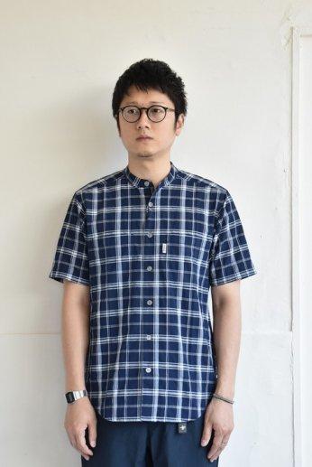 FOXFIRE(フォックスファイヤー) Cシールドプレザントシャツ S/S ネイビー