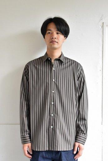 bettaku comfort(ベッタク コンフォート) レギュラーカラーシャツ ブラウン