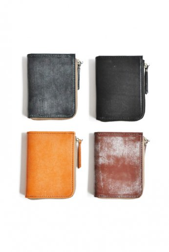 SLOW(スロウ) bridle L zip mini wallet
