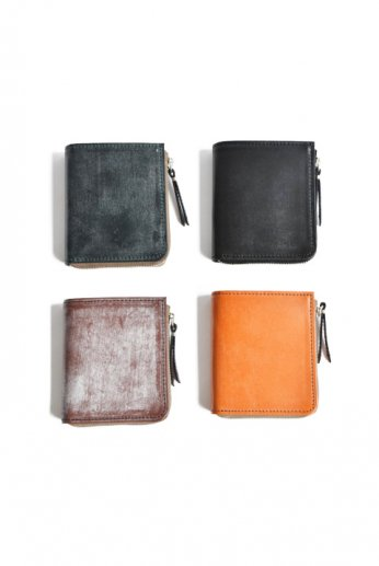 SLOW(スロウ) bridle L zip short wallet