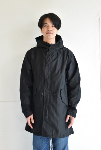 <img class='new_mark_img1' src='https://img.shop-pro.jp/img/new/icons13.gif' style='border:none;display:inline;margin:0px;padding:0px;width:auto;' />F.O.B FACTORY(エフオービー ファクトリー) M51 SHELL PARKA ブラック
